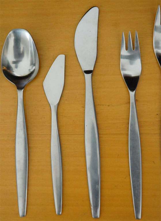 Folke Arstrom Focus Quot Flatware For Gense Sweden Stainless