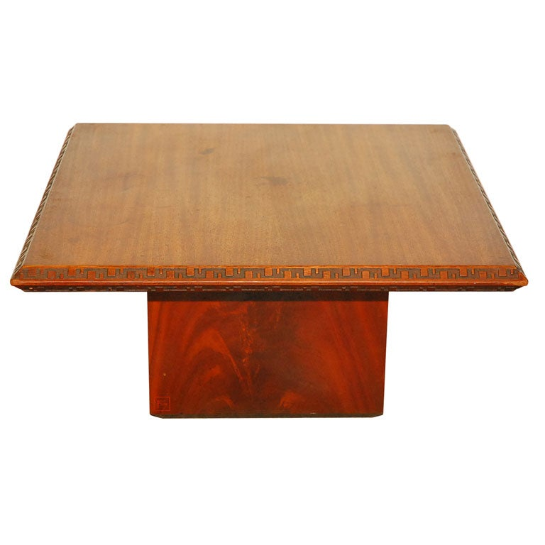 Frank Lloyd Wright Taliesin Coffee Table At 1stdibs