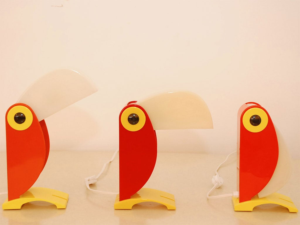 American Verner Panton Toucan Light For Sale