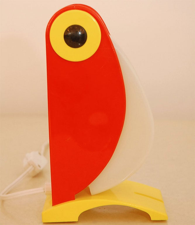 20th Century Verner Panton Toucan Light For Sale