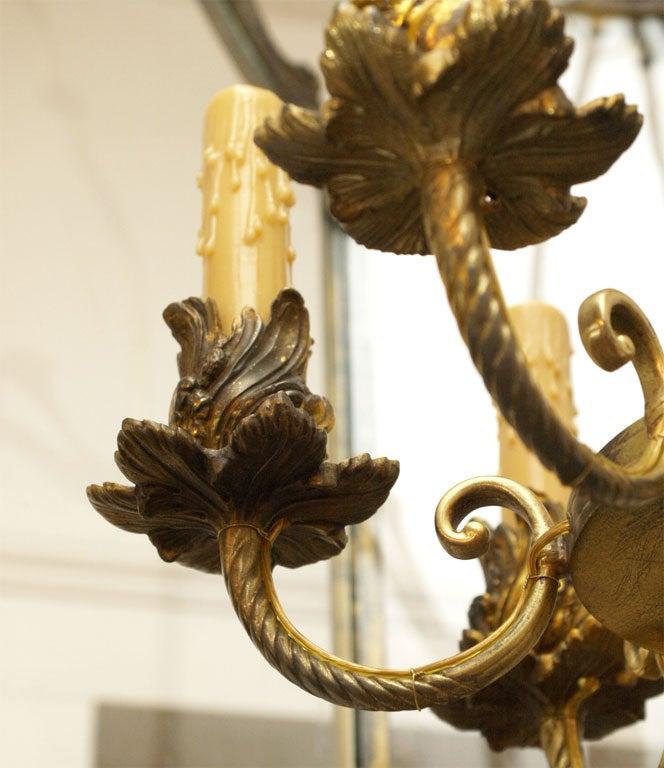 Fine Bronze Louis XV Lantern  7