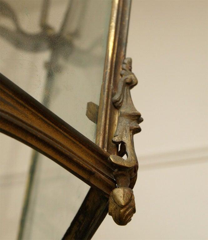 Fine Bronze Louis XV Lantern  9