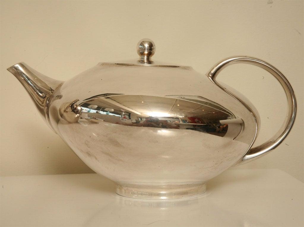 beautiful rosenthal porcelain and silver tea service at. Black Bedroom Furniture Sets. Home Design Ideas