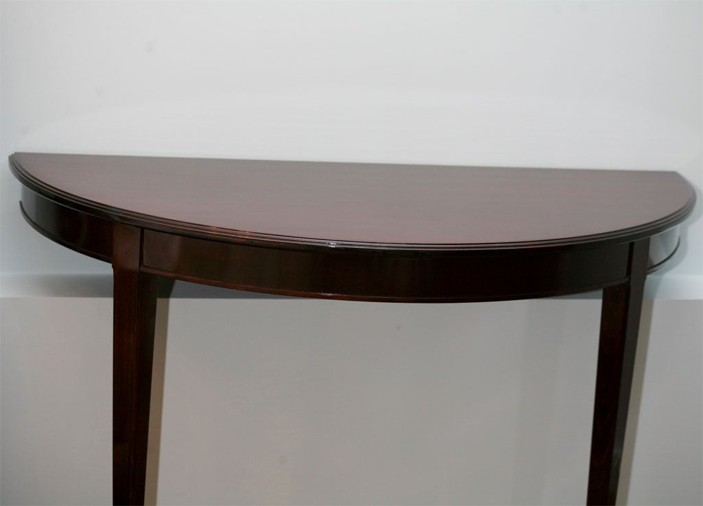Demi lune table at 1stdibs - Table demi lune murale ...