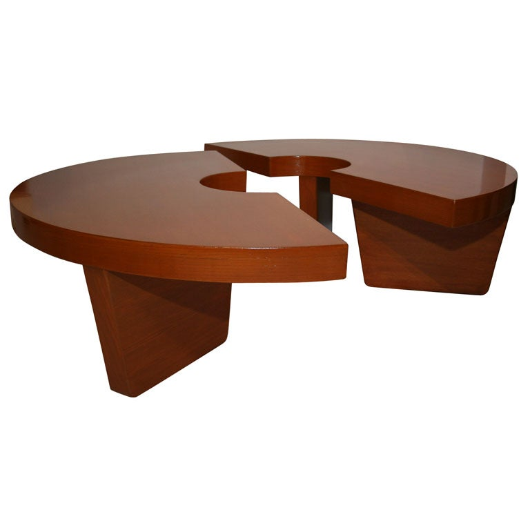 Harvey probber quotnuclearquot coffee table at 1stdibs for Harveys coffee tables