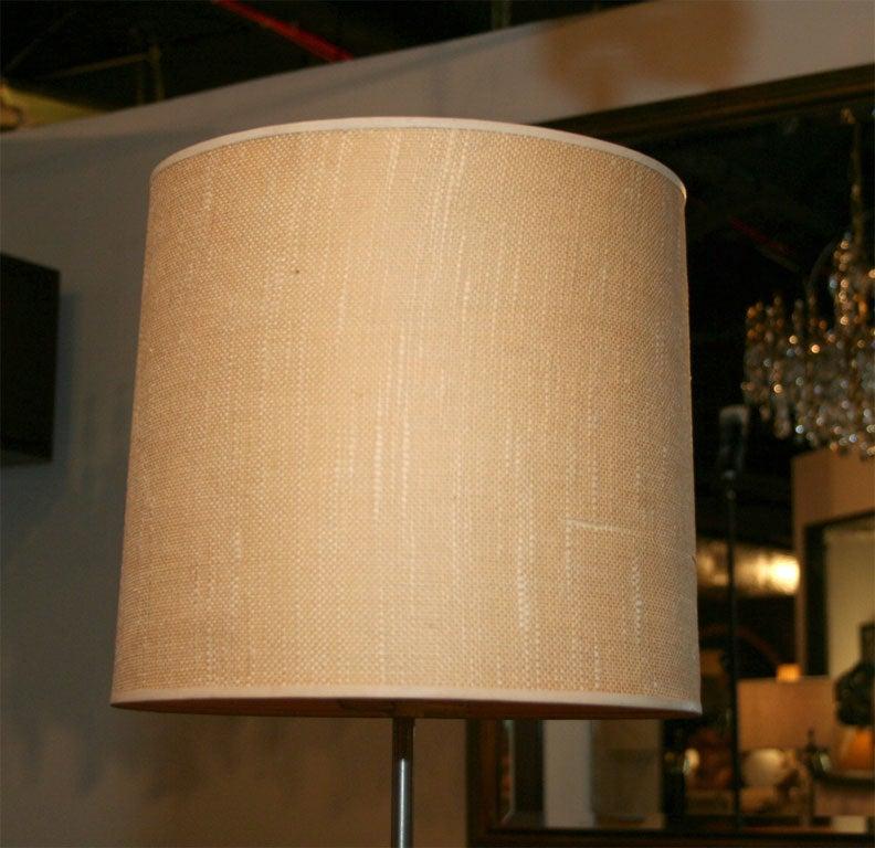 Pair of Modernist Adjustable Floor Lamps by Laurel For Sale 1