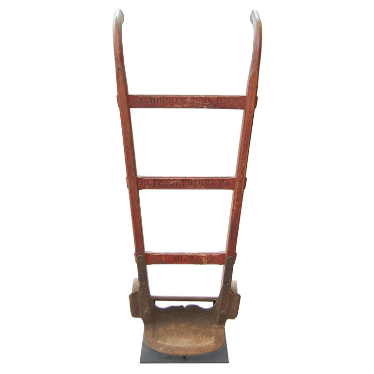 From a collection of vintage hand trucks at 1stdibs for Furniture hand truck