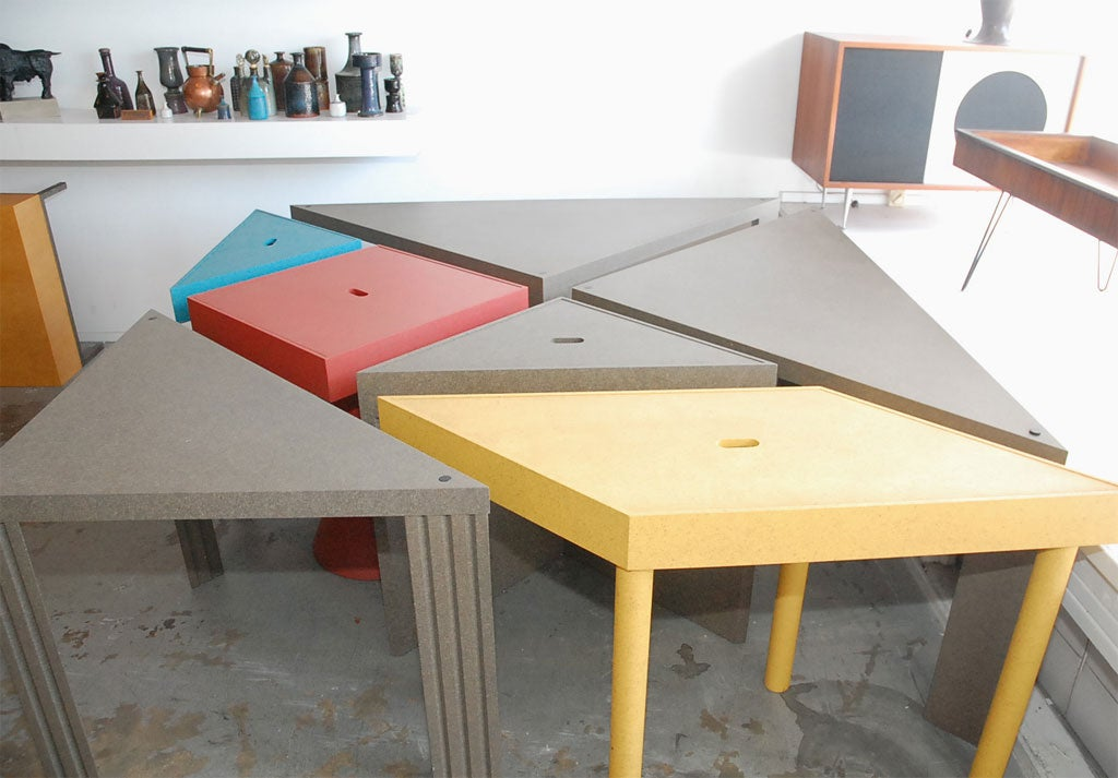 """Tangram"" Modular Dining Table by Massimo Morozzi 4"