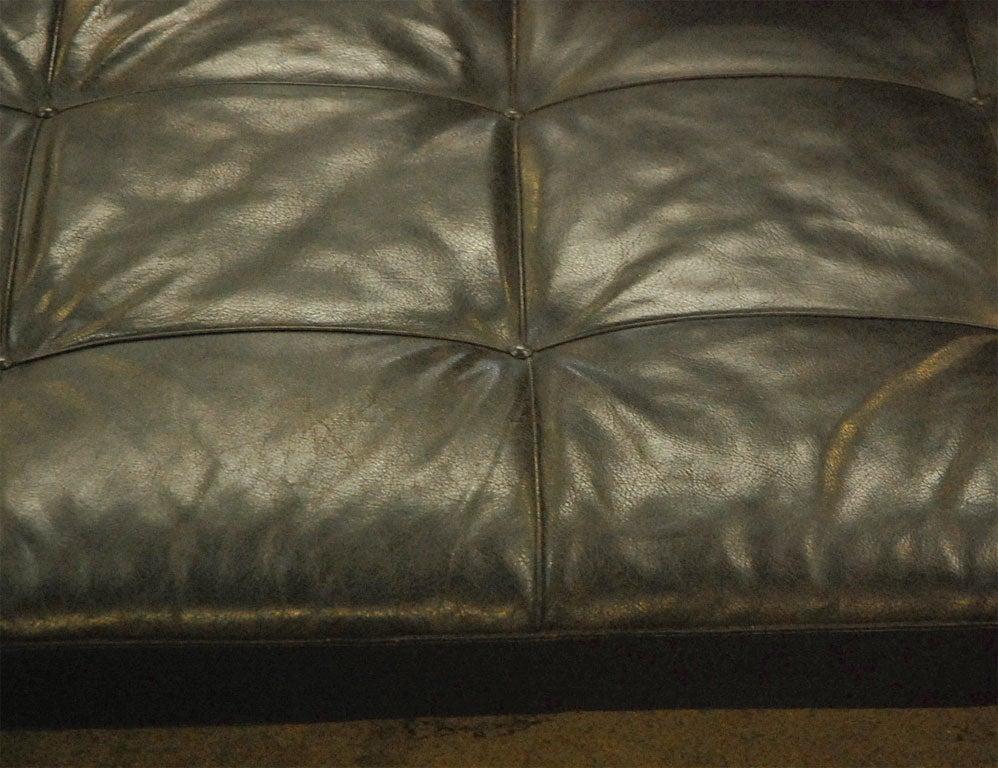 20th Century PK 80 Poul Kjaerholm by Kold Christensen leather daybed