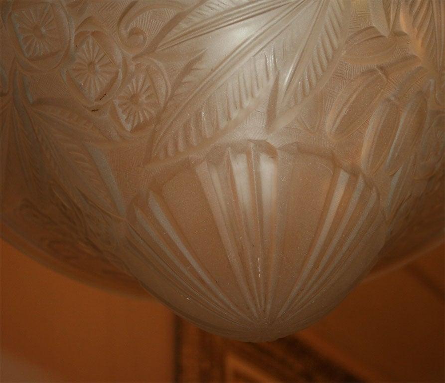 Art Deco Chandelier by Lorraine For Sale 1