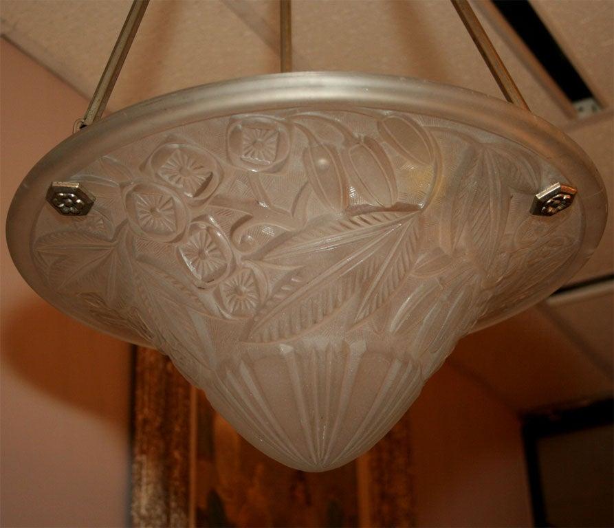 Art Deco Chandelier by Lorraine For Sale 4