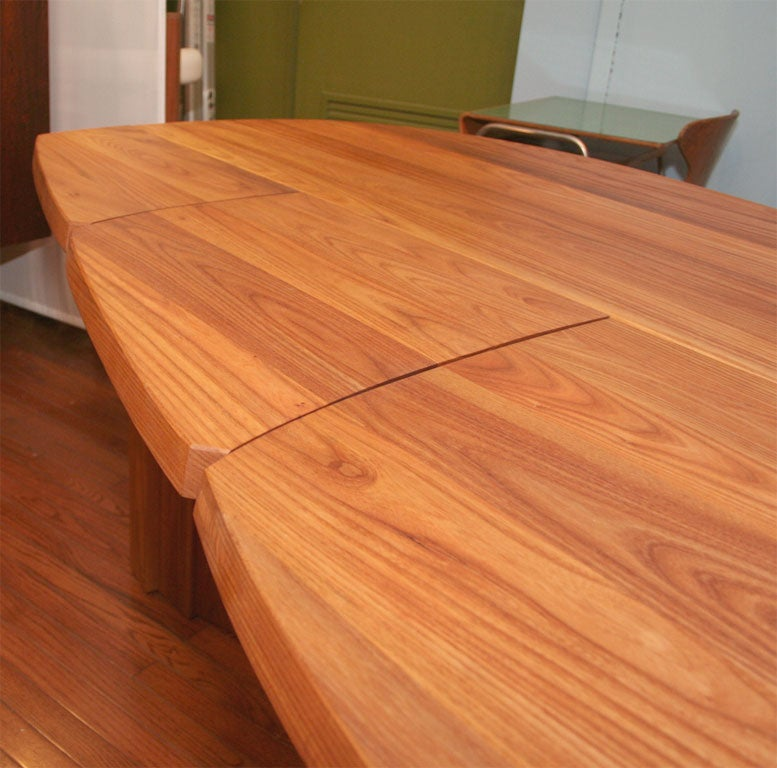 Variable Geometric Dining Table by Pierre Chapo For Sale 3