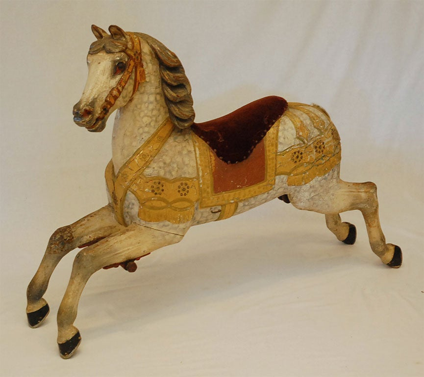 Antique Carousel Horse image 2