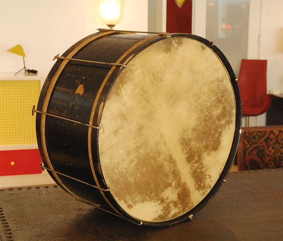 Vintage Bass Drum At 1stdibs