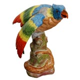 Brightly Colored Parrot Figure