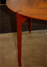 Brown-Saltman Walnut Game/ Dining Set thumbnail 4