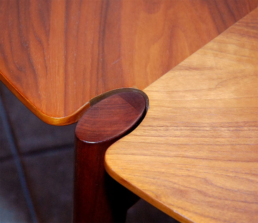 Brown-Saltman Walnut Game/ Dining Set 6