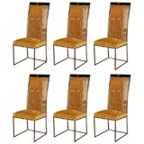 HIgh-Back Milo Baughman Dining Chairs