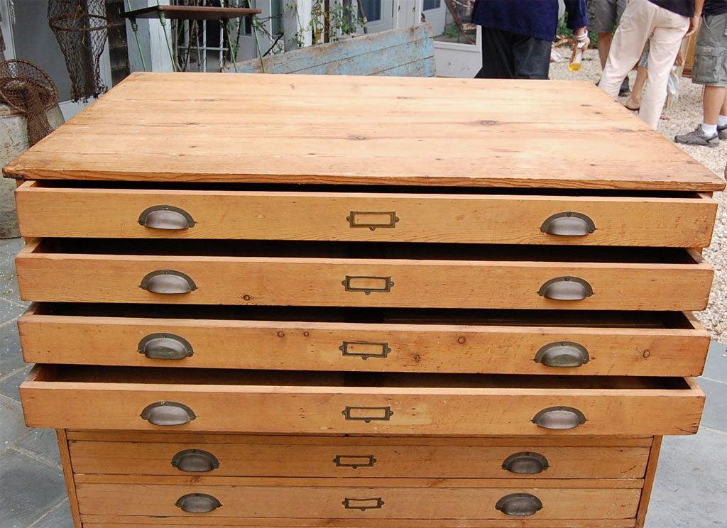 flat file cabinet antique 2