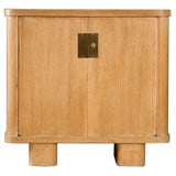 Art Deco Cerused Side Cabinet