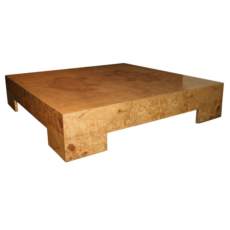 Low Coffee Table By Milo Baughman At 1stdibs