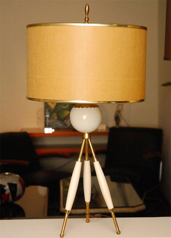 Mid Century Lamp image 2