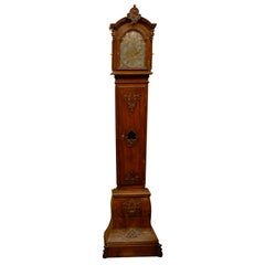 Tall case Dutch Clock in Oak, ca. 1760