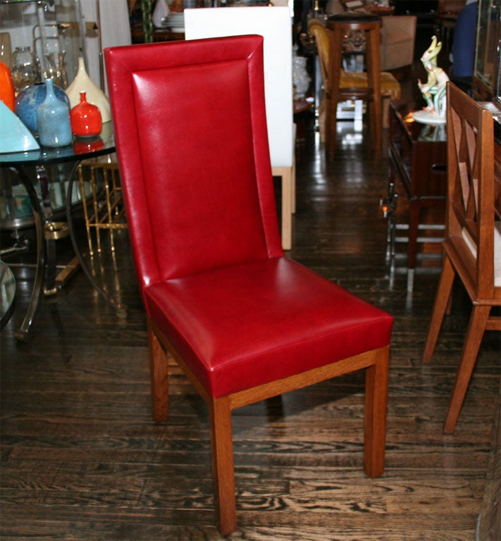 custom made upholstered dining chair contemporary at 1stdibs
