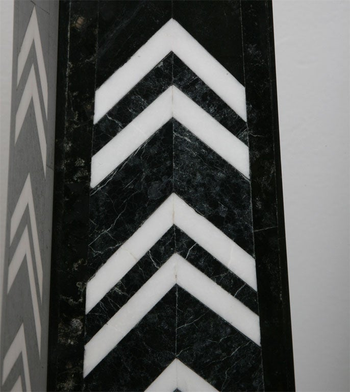 Massive Pair of Marble Obelisks by Maitland Smith For Sale 3