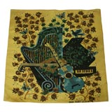 French Modernist Tapestry by Jean Picart Le Doux