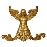 19th c., Gilded Angel