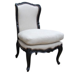 Petit Louis XV Slipper Chair