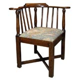 Oak  / Elm Corner Chair