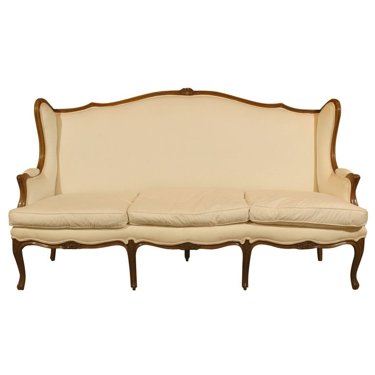 19th century french louis xv style sofa at 1stdibs