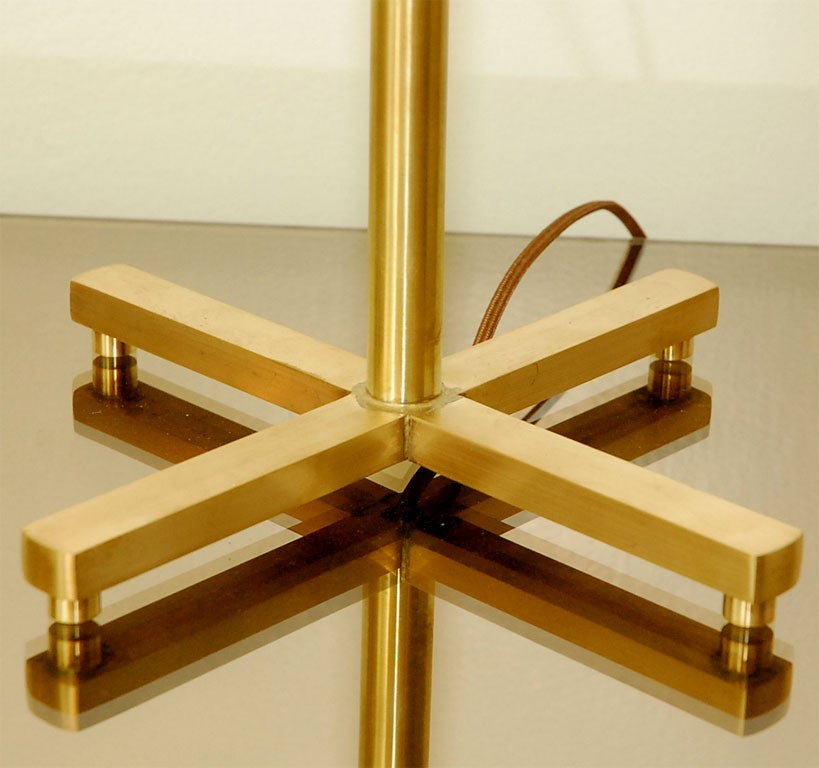 Pair Of Brass Table Lamps 6