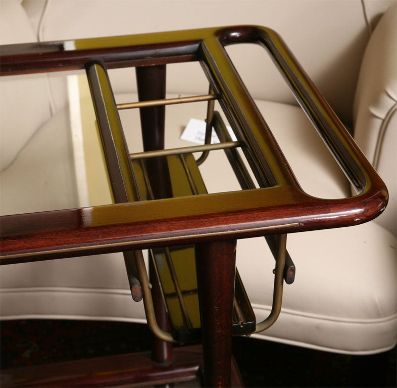 THE PERFECT MANHATTAN BARCART ATTR. C.LACCA at 1stdibs