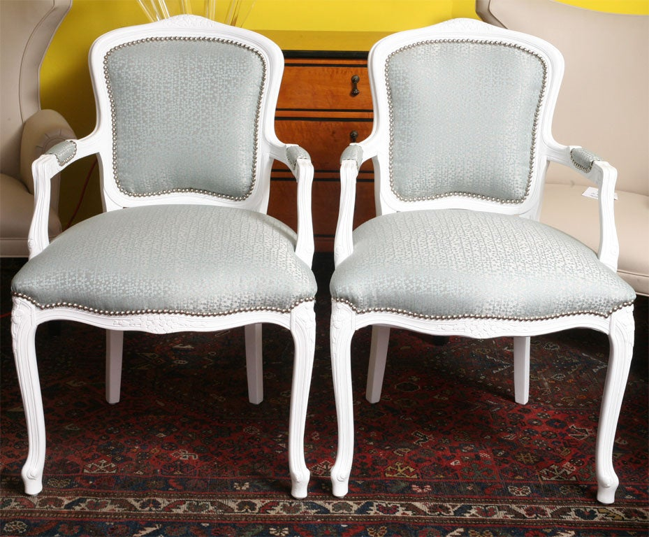 Pr louis xv th style french chairs at 1stdibs - Louis th chairs ...