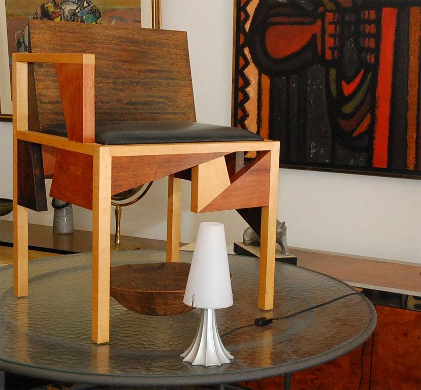 Post-Modern Alessandro Mendini Mimi Plastic Table Lamp Signed For Sale