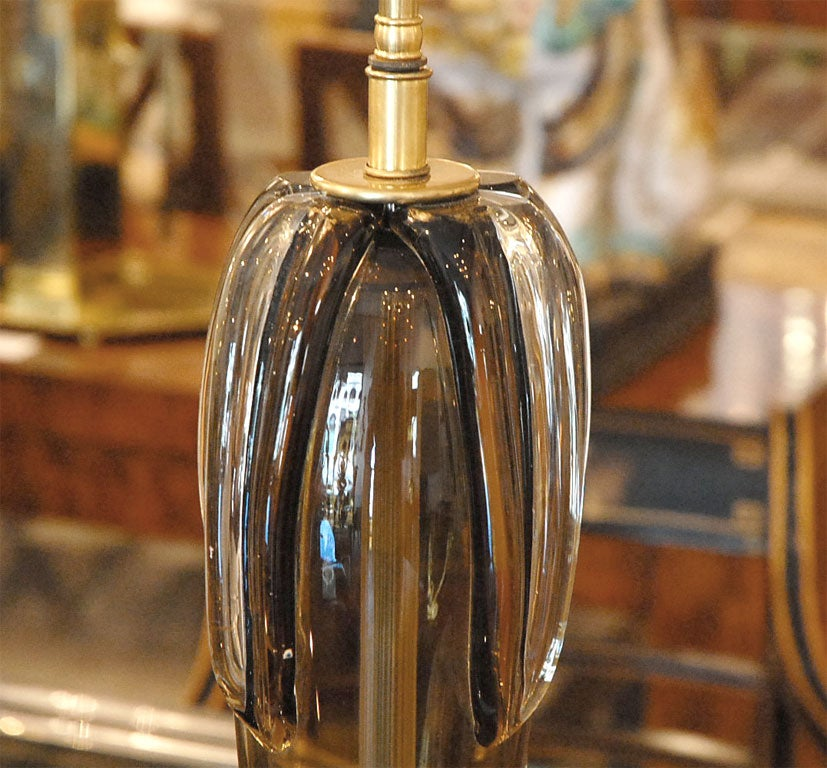 Glass Murano Lamp by Cenedese For Sale