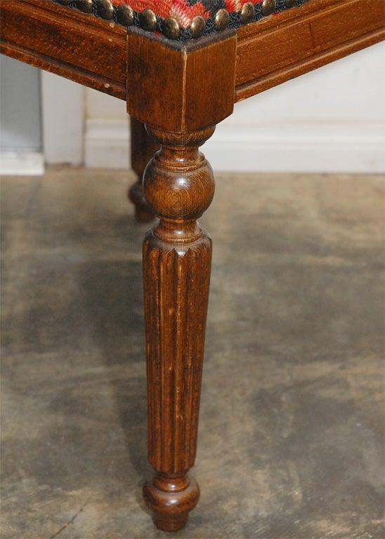 Upholstered Stool At 1stdibs