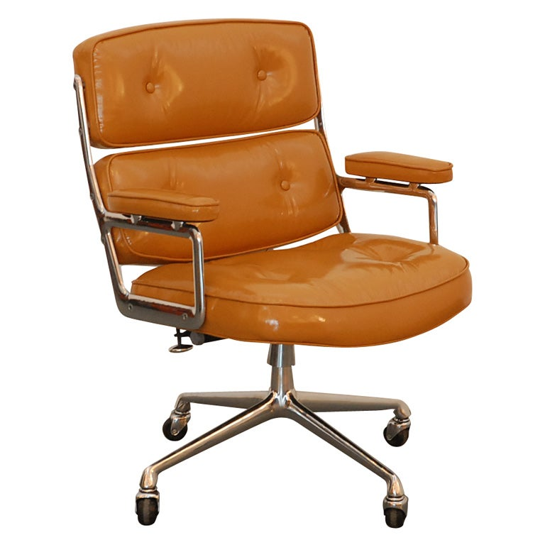 camel leather chair camel patent leather time chair at 1stdibs 1960