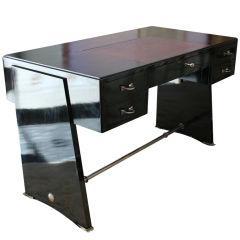 Porteneuve Black Lacquered Desk