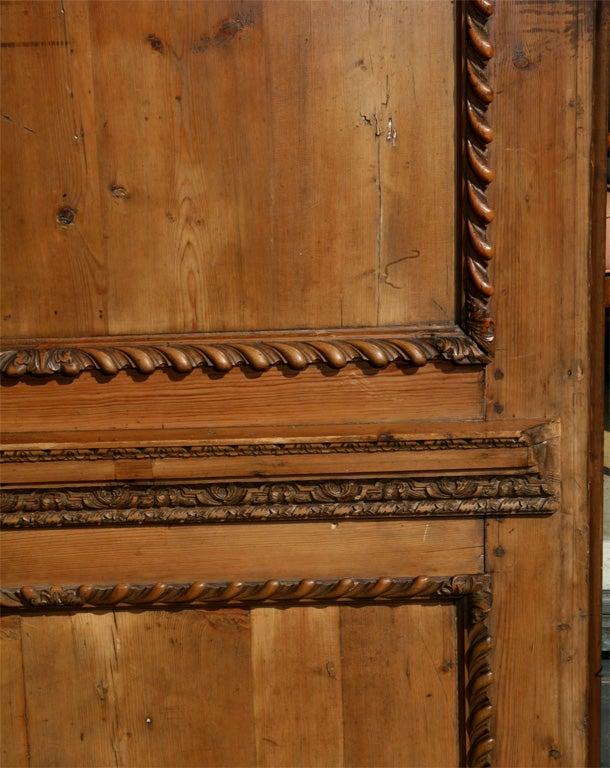 Pair English Deal Wood Wall Panels At 1stdibs
