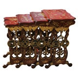 China Trade Lacquered Nesting Tables