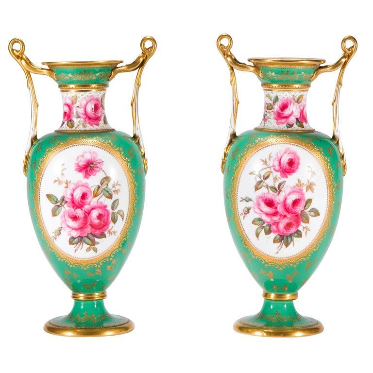Antique Spode Porcelain Urn For Sale At 1stdibs