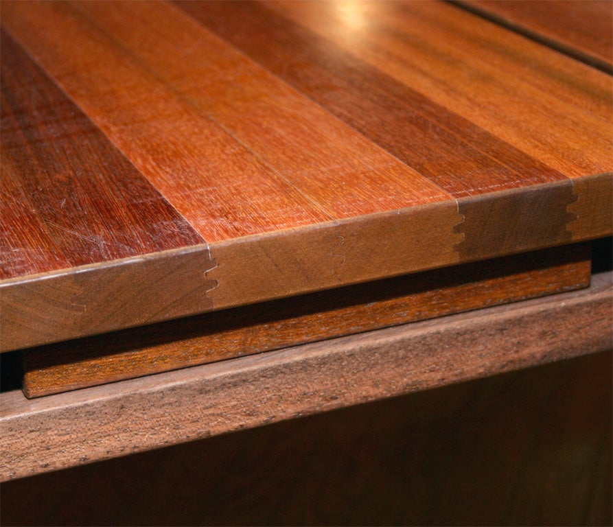 Solid Mahogany Coffee Table For Sale 1