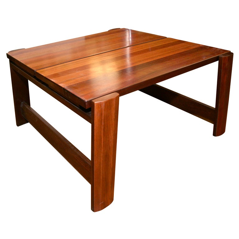 Solid Mahogany Coffee Table For Sale At 1stdibs