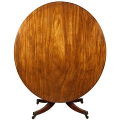 19th Century Oval Breakfast Table