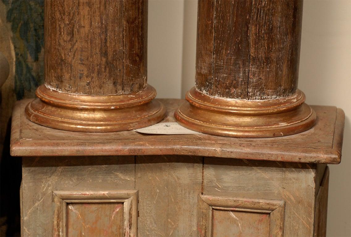 Pair of 18th Century Italian  Architectural Columns image 3