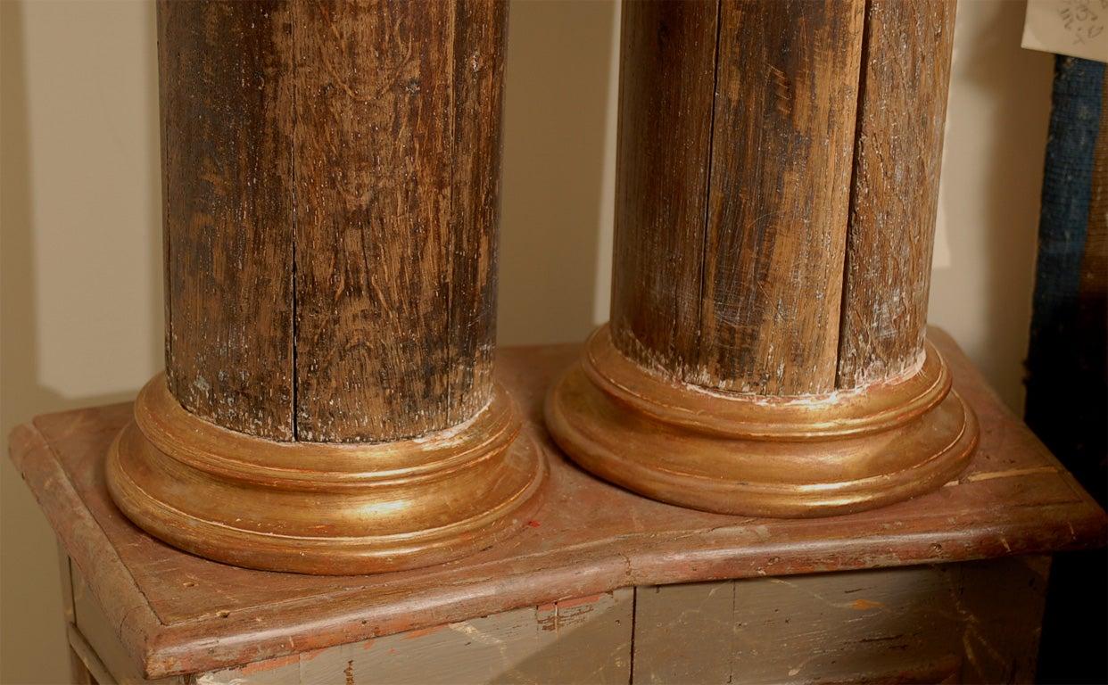 Pair of 18th Century Italian  Architectural Columns image 5